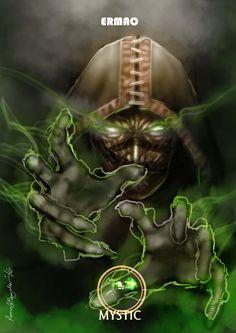 Mortal Kombat X Ermac-Mystic Variation by Grapiqkad.deviantart.com on @DeviantArt