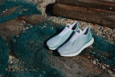 Adidas Shoes Made With Sea Trash