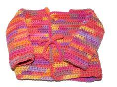Newborn Girl Sweater 3 to 6 Months by MrsSchafferCreations on Etsy, $20.00