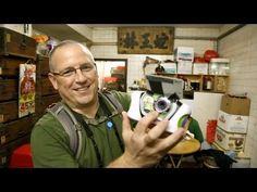 David Hobby with a Buzz Lightyear camera.