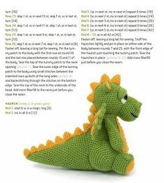 Кукляндия: Дракон Crochet Lovey Free Pattern, Crochet Dragon Pattern, Crochet Bunny, Crochet Animals, Crochet Flowers, Animal Knitting Patterns, Crochet Patterns Amigurumi, Amigurumi Doll, Crochet Dolls