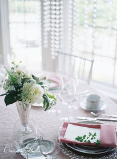 Blush + Silver Inspiration Shoot by Absolutely IN! Events, photography by Carretto Studio, florals by Bloomin' Buckets, rentals from Grand Rental Station, menu by M. Haley Design, linens from Connie Duglin Linens