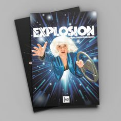 Poster/Flyer/Programm Design Explosion. Eine Überforderung. ke.theater Flyer, Bee Keeping, Theater, Poster, Logo Design, Art, Teatro, Posters, Kunst