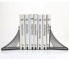 Brooklyn Bridge Bookends