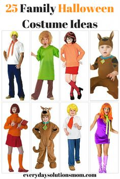 25 Family Halloween Costume Ideas - Everyday Solutions Mom