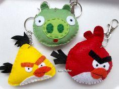 1001 Feltros: angry birds