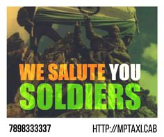 """This Kargil Vijay Diwas team #Mp_Taxi_Cab salutes the true heroes of the nation, """"THE INDIAN ARMY""""  for the rock solid grit and bravery that they have shown over the years.  """"JAI HIND""""    . MP TAXI CAB 7898333337 http://mptaxi.cab . . . .  #Bhopal_to_Ujjain_taxi #Travel_to_Ujjain #Travel_to_Indore #Travel_to_Jabalpur #Travel_to_Khajuraho #Travel_to_Orchha #Travel_to_Amarkantak #Travel_to_Pachmarhi"""