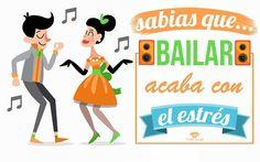 Sabíais que bailar quita el estrés?!?!?  No importa que sea lunes cada día es un buen día para desestresarse!! :D      #bailar #baile #MundoCrystal #motivacion