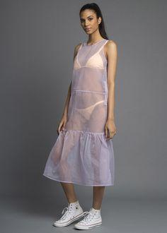 All Cried Out Organza Maxi Dress