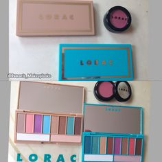 Lorac summer Glo and after Glo palettes. #GotItFree  #SoleilGlow
