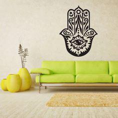 Wall Vinyl Sticker Decals Decor Art Hamsa Hand by StickersForLife, $27.99