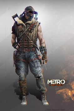 Metro: Last Light - Hanza Scout