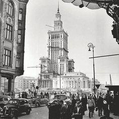 Warszawa, lata 50
