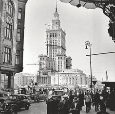 laufweiter:  Warsaw, Poland in the 1950s.