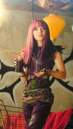 Dove Cameron as Mal the daughter of Maleficent in Descendants 2 #DisneyChannel
