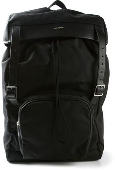 Saint Laurent classic backpack on shopstyle.com