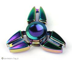 Metalowy spinner Krab