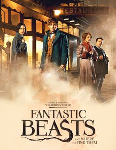 stuckwith-harry: dromedas: Fantastic Beasts and Where to Find Them | first look #This is cool but also so white (x)same