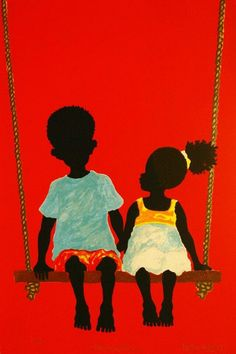 black art Learn About The Robust And Attractive African Art - Bored Art African Art Paintings, Africa Art, Black Artwork, African American Art, African Kids, Black Women Art, Love Art, Female Art, Art Gallery