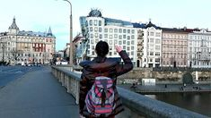 Feeling the moves of the Dancing house Model: Prague, Dancing, Travel Photography, Sisters, Street View, Feelings, Architecture, Model, House