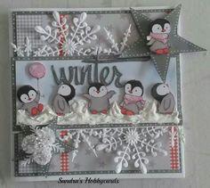 Design Winter Wishes Diy Christmas Cards, Xmas Cards, Handmade Christmas, Christmas Crafts, 3d Cards, Cool Cards, Marianne Design, Winter Cards, Card Tags