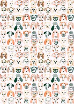 Emily Nelson Illustration // DOGS