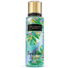 Victoria's Secret Tropic Beach Fragrance Mist ($6) ❤ liked on Polyvore featuring beauty products, fragrance, makeup, floral fragrances and spray perfume
