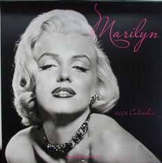 Marilyn Monroe 2008 wall calendar, Graphique de France.