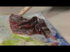 ▶ How To use Mixed Media with Encaustics Part 1 - YouTube