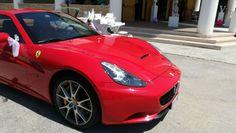 L'Anteriore della nostra Meravigliosa Ferrari California.