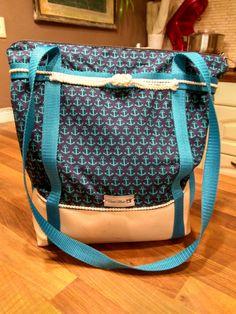 Taschenrucksack Maritim selbst genäht
