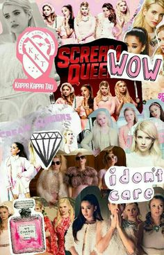 Scream Queens | We Heart It | fox, wallpaper, and lockscreen