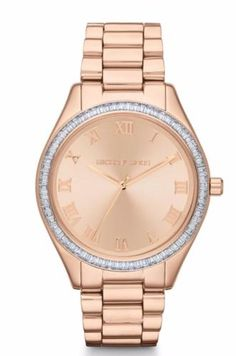 MICHAEL-KORS-MK3243-WOMENS-BLAKE-SLIM-ROSE-GOLD-OVERSIZED-DIAL-WATCH-NEW-250