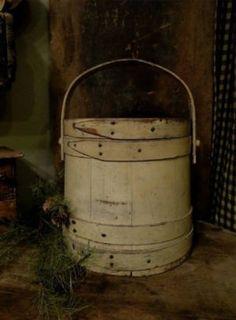 Early Paint Sugar Bucket