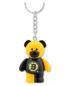 Forever Collectibles Boston Bruins Bear Keychain $4.99 (For Syd or Donna?)
