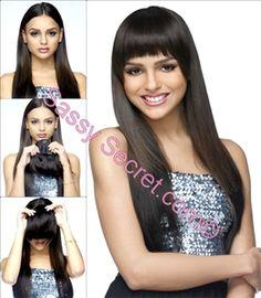 clip in bang hair extensions