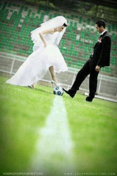 soccer + wedding. i need this