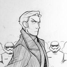 ashetray:   General Hux  From my Twitter... - fake star wars fan