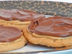 Double Frosted Peanut Butter Milk Chocolate Cookies
