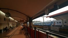 Train station in Malang