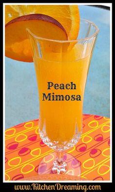 Peach melba, Mimosas and Peaches on Pinterest