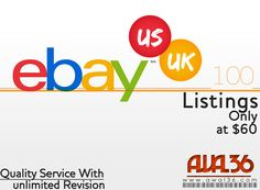 List your 100 products on eBay for $60. Contact: awal36@gmail.com