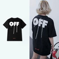 2017 chic off black t-shirt