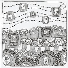 Really like this #zentangle