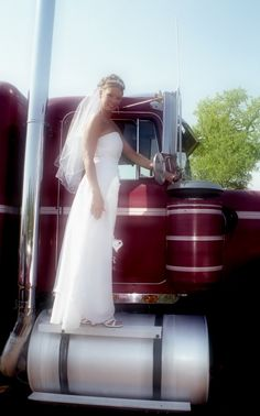You might be a truckers wife.. shutterstock_665380