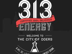 313Energy Can Design by Sawyer Altman