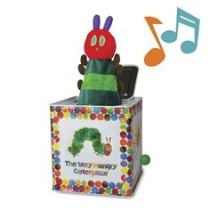 Kids Preferred The World of Eric Carle The Very Hungry Caterpillar Jack in the Box baby gift idea Hungry Caterpillar Nursery, Very Hungry Caterpillar, Kids Toy Shop, Pop Goes The Weasel, Best Toddler Toys, Jack In The Box, Thing 1, Developmental Toys, Eric Carle