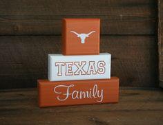 "Texas Longhorns UT Family Blocks ""Ready to Ship""....Why don't I have this already?!?!"