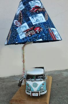 Polynesian Designs - VW Combe Van Lamp, $120.00 (http://www.polynesiandesigns.com/vw-combe-van-lamp/)