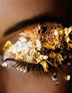 pascal chevallier - beauty eyes gold leaf